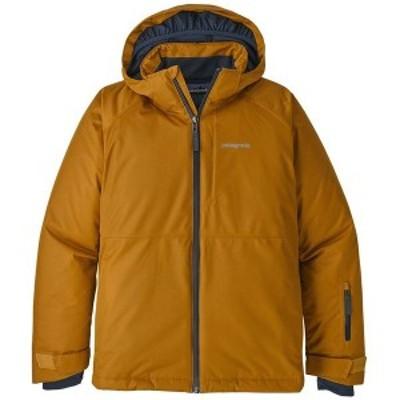 パタゴニア メンズ ジャケット・ブルゾン アウター Patagonia Snowshot Jacket - Boys' Wren Gold