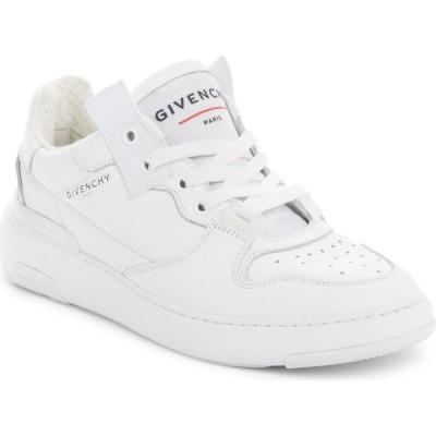 ジバンシー GIVENCHY レディース スニーカー ローカット シューズ・靴 Wing Low Top Sneaker White