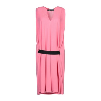 GAëLLE Paris ミニワンピース&ドレス ピンク 42 レーヨン 100% ミニワンピース&ドレス