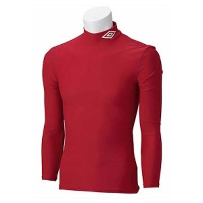 アンブロ 長袖パワーインナーシャツ(MRED・M) umbro サッカー・フットサル インナーウェア DS-UAS9300-MRED-M【返品種別A】