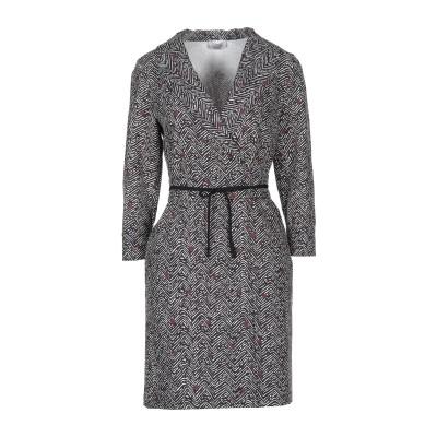 MARELLA ミニワンピース&ドレス ブラック 38 ポリエステル 90% / ポリウレタン 10% ミニワンピース&ドレス