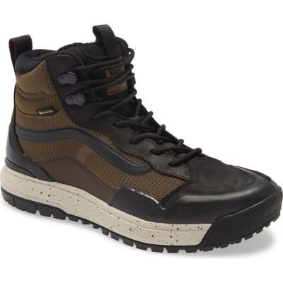 ヴァンズ VANS メンズ スニーカー シューズ・靴 UltraRange Exo Hi MTE Gore-Tex Waterproof Sneaker Brown/Black