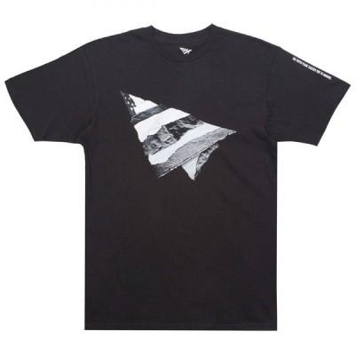 ペーパープレーンズ Paper Planes メンズ Tシャツ トップス Rip and Repair Tee black