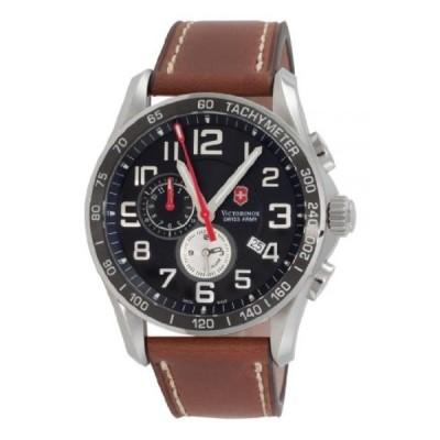 ビクトリノックス 腕時計 メンズウォッチ Victorinox Swiss Army Men's 241279 Chrono Classic Black Dial Watch