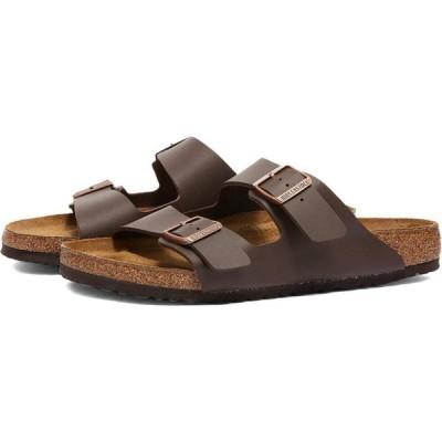 ビルケンシュトック Birkenstock メンズ サンダル シューズ・靴 arizona Dark Brown Birko