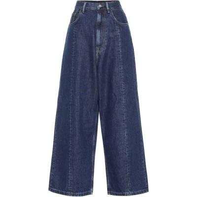 【残り1点!】【サイズ:26】アクネ ストゥディオズ Acne Studios レディース ボトムス・パンツ ジーンズ・デニム High-Rise Wide-Leg Jeans Dark Blue