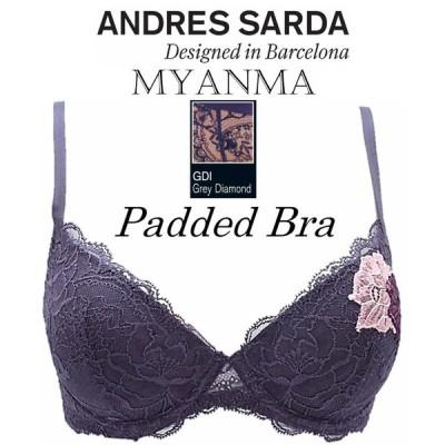 ANDRES SARDA アンドレサルダ 輸入 下着 ヨーロッパ 高級 インポート ランジェリー パテッド ブラジャー