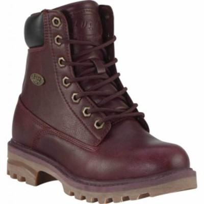 ラグズ Lugz レディース ブーツ ワークブーツ シューズ・靴 Empire HI WR Work Boot Berry/Black/Gum Synthetic Nubuck
