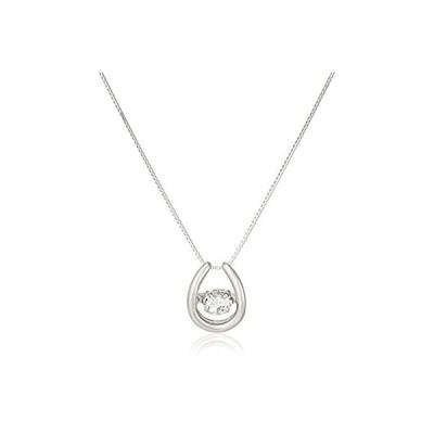 [ディーコレクション] D-COLLECTION プラチナ ダンシングダイヤモンドネックレス 0.3ct DFTW1564PT