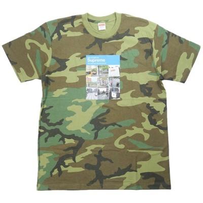 シュプリーム SUPREME 20AW Verify Tee Camo Tシャツ 緑 Size【M】 【新古品・未使用品】