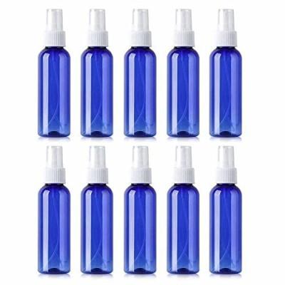 10個セット スプレーボトル 詰替ボトル 次亜塩素酸水対応 透明小分けボトル 遮光 容器 青色 (30ml)