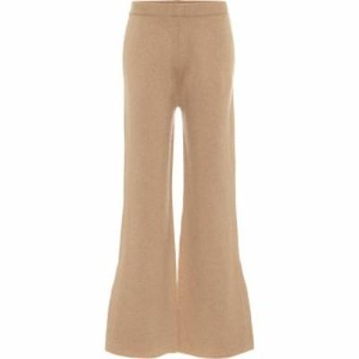 ジョゼフ Joseph レディース ボトムス・パンツ Mid-rise wool-blend flared pants Light Cognac