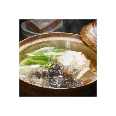 東北町 ふるさと納税 モール温泉「兜かぶと)すっぽん」鍋 醤油・生姜味1セット(すっぽん肉入りスープ1)