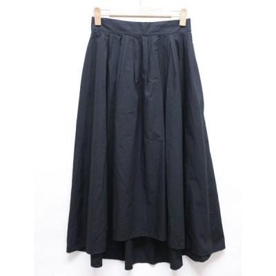 Le souk/ルスーク/スカート/フレアスカート/フィッシュテールスカート/SIZE38/M/9号/ブラック-レターパックプラス発送