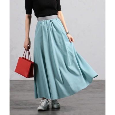 スカート BEAMS LIGHTS / シアーボイル ロングスカート