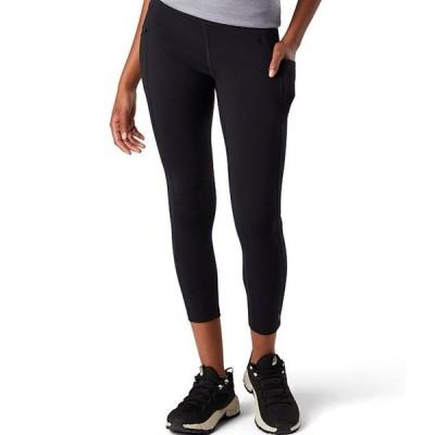 スマートウール レディース カジュアルパンツ ボトムス Merino Sport 7/8 Wide Waistband Drop Pocket Legging