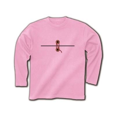 封筒 長袖Tシャツ(ライトピンク)