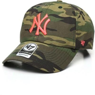 47ブランド '47 メンズ キャップ 帽子 New York Yankees Camo Clean Up Cap Camo