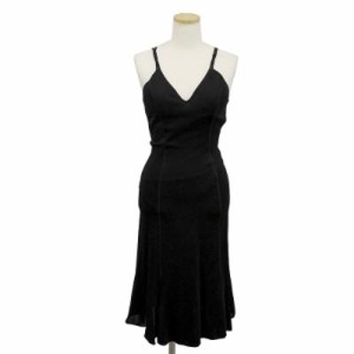 (美品)アルマーニ ボディーライン レディース ストレッチ ドレス 38 ブラック