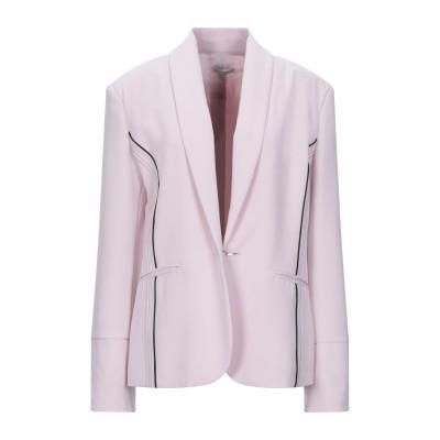 CRISTINAEFFE テーラードジャケット ピンク 48 ポリエステル 96% / ポリウレタン 4% テーラードジャケット