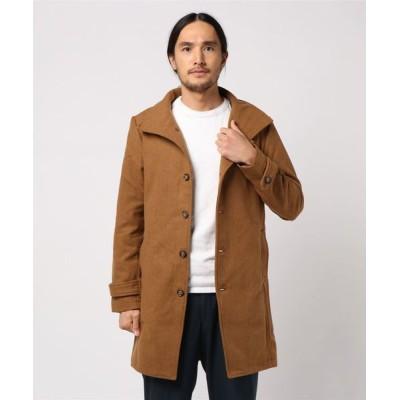 TORNADO MART / BLUE TORNADO∴B メルトンイタリアンカラーコート MEN ジャケット/アウター > ステンカラーコート