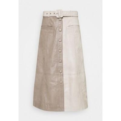 ゲタス レディース スカート ボトムス ROXANNE SKIRT - A-line skirt - beige beige
