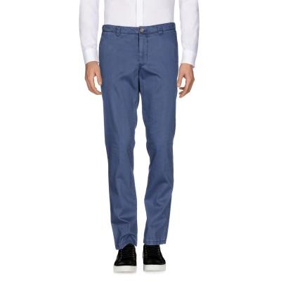 SAN|SIRO パンツ ブルー 48 コットン 97% / ポリウレタン 3% パンツ