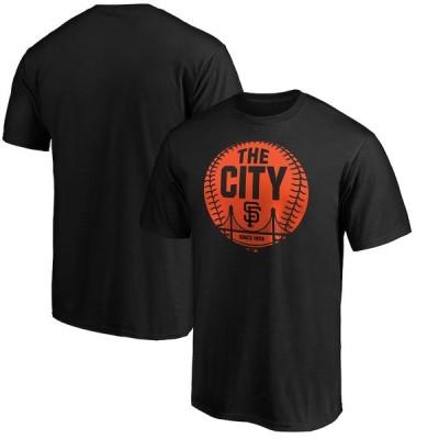 """ファナティックス メンズ Tシャツ """"San Francisco Giants"""" Fanatics Branded City Ball Hometown Collection T-Shirt ??EBlack"""