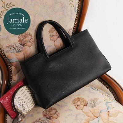 Jamale ブランド 日本製 牛革 ブラックフォーマル ハンドバッグ レディース ブラック 黒 ギフト 本革 『ギフト』