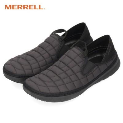 メレル MERRELL スニーカー メンズ ハット モック J90731 ブラック スリッポン 軽量 アウトドア 黒
