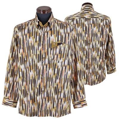 パジェロ■2020秋冬■ドゥボットーニシャツ(茶系)日本製