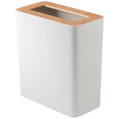 ゴミ箱 山崎実業 RIN トラッシュカン 蓋付き 角型 YAMAZAKI ゴミ箱 フタ付き リン ナチュラル