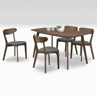 ダイニングテーブルセット 4人用 5点セット 幅150cm 北欧