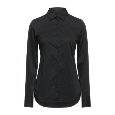 LIS LAREIDA シャツ ブラック 34 コットン 78% / ナイロン 16% / ポリウレタン 6% シャツ