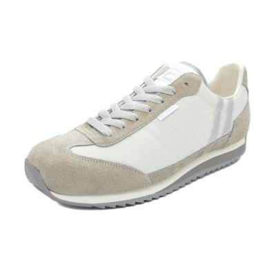 スニーカー パトリック PATRICK マラソン マッシュルーム ベージュ 942103 メンズ シューズ 靴 21Q1