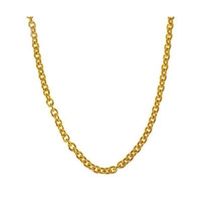 ネックレス メンズ レディース ブランド シルバー 925 ゴールド シンプル blackdia 18K GP 小豆 チェーン ネックレス