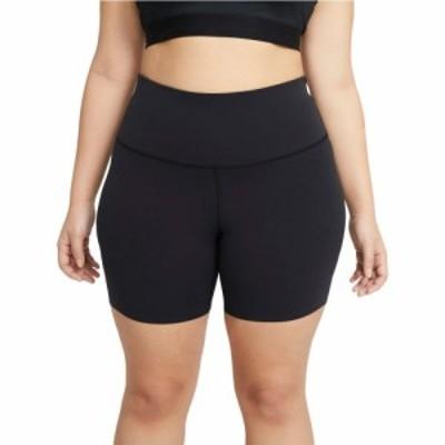 ナイキ Nike レディース ショートパンツ ボトムス・パンツ The Yoga Lux 7 Shorts (Sizes 1X-3X) Black/Dark Smoke Grey