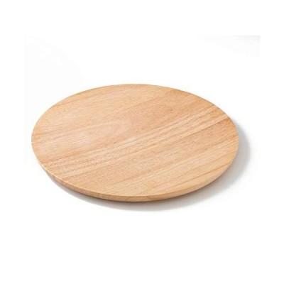 スワンソン商事 ピザプレート L 木製 ラバーウッド ナチュラル 約直径33×厚さ2cm オードブル カッティングボード 業務用 PZ-20