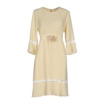 ロートレ ショーズ L' AUTRE CHOSE ミニワンピース&ドレス ライトイエロー 42 ポリエステル 100% ミニワンピース&ドレス