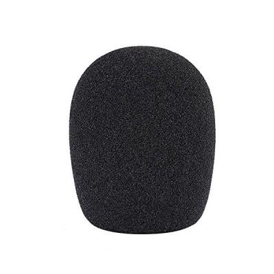 Neewer ボール型のポップブロッカー ウィンドスクリーン コンデンサーマイクに対応 黒