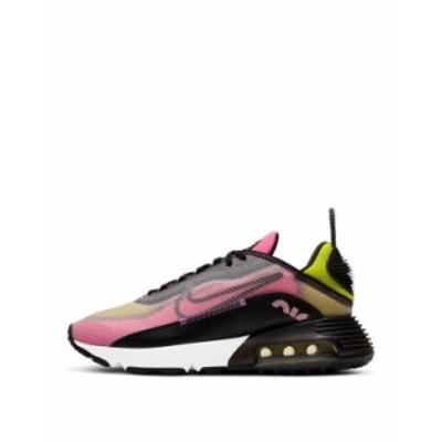 ナイキ レディース スニーカー シューズ Nike Air Max 2090 sneakers in champagne and sunset pulse Black