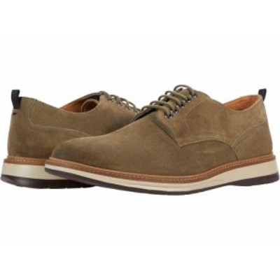 Clarks クラークス メンズ 男性用 シューズ 靴 オックスフォード 紳士靴 通勤靴 Chantry Walk Olive Suede【送料無料】