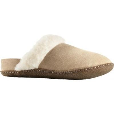 ソレル Sorel レディース スリッパ シューズ・靴 Nakiska Slide II Slipper British Tan/Natural/Brown