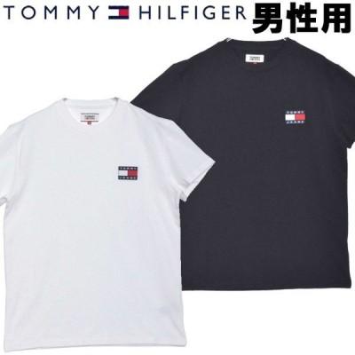 トミーヒルフィガー メンズ 半袖Tシャツ ロゴワッペンTシャツ TOMMY HILFIGER 2609-0045