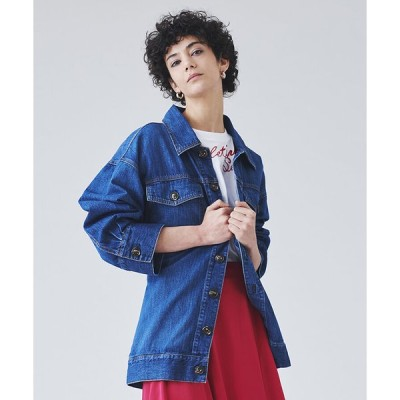 LANVIN en Bleu(Wear) デニムCPOジャケット