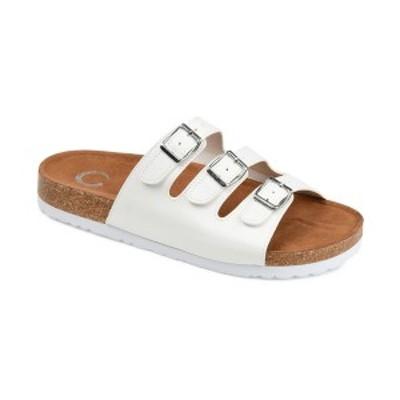 ジャーニーコレクション レディース サンダル シューズ Women's Desta Slide Sandal White
