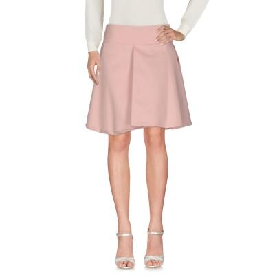 ブルマリン BLUMARINE ミニスカート ライトピンク 38 コットン 67% / ナイロン 30% / ポリウレタン 3% ミニスカート