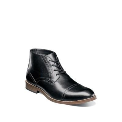ノンブッシュ メンズ ブーツ&レインブーツ シューズ Middleton Cap Toe Chukka Boot BLACK