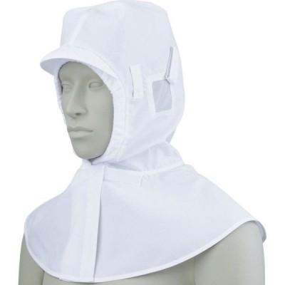 頭巾帽子 ケープ付 男女兼用 厨房 調理 飲食 住商モンブラン MONTBLANC 9-945