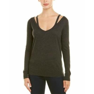 Autumn Cashmere オータムカシミア ファッション トップス Autumn Cashmere Sweater S Grey